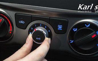 Kontrola a servis klimatizace ve vašem voze