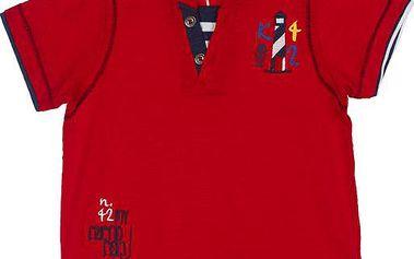 Chlapecké tričko - červené