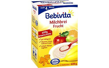 Bebivita ovocná mléčná kaše 600g