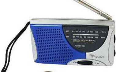 Kapesní rádio Kruger&Matz URZ2048 Azusa na dvě tužkové baterie