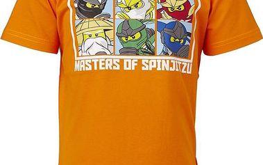 Chlapecké tričko s lego potiskem - cihlové