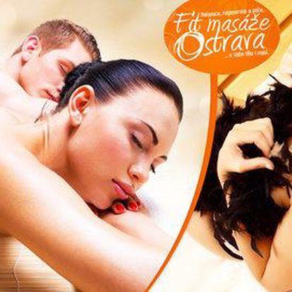 90minutová královská masáž pro jednoho i pro dva s nádechem tantry