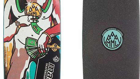 Úžasný skateboard Yeti s cool motivem