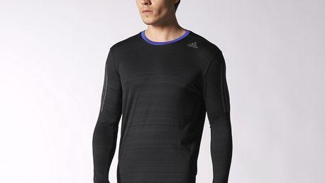 Pánské běžecké triko s dlouhým rukávem Adidas Supernova