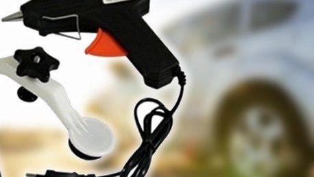 Pops-a-Dent set pro opravu promáčknutých karoserií automobilů. Oblíbený u zákazníků a v servisech!