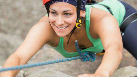 Horolezcem na zkoušku: Kurzy lezení s instruktorem a vybavením již od 550Kč.