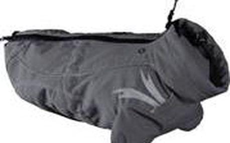 Perfektní, funkční softshelová bunda určena do chladného a deštivého počasí Hurtta Outdoors Frost Jacket - šedá 35 cm