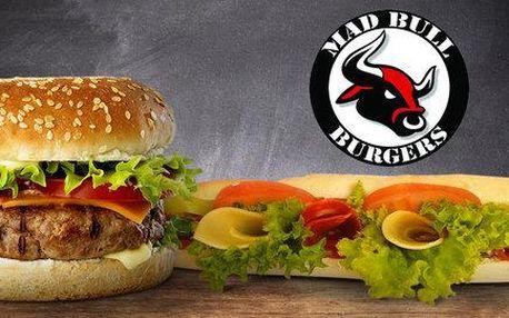 Vynikající speciality v Mad Bull Burgers