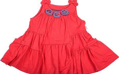 Dívčí tunika - červená