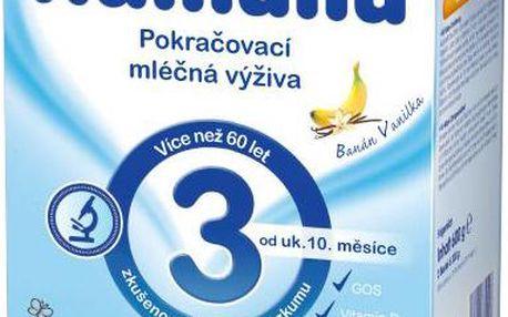 HUMANA 3 banán a vanilka 600g
