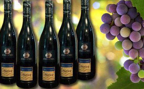 Král vín Pinot noir - 6 lahví