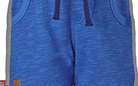 Chlapecké šortky - modro-šedé