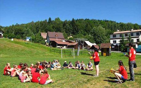 Anglický tábor na 7 dní pro děti od 6 let