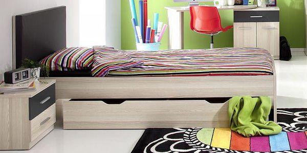 Jednolůžková postel Alda