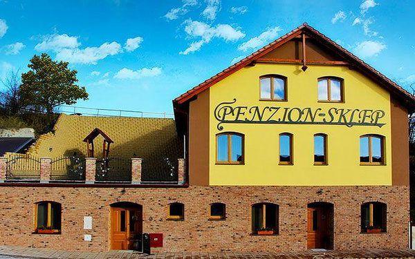 Až 5 dní pro 2 s neomezenou konzumací vína na jižní Moravě v penzionu Sklep