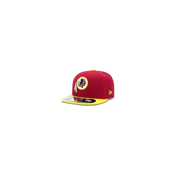New Era NFL Authentic On Field Washington Redskins Game 59fifty, červená, 7 1/4
