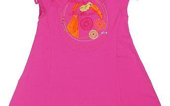 Dívčí tunika - růžová