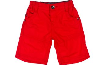 Chlapecké bermudy - červené