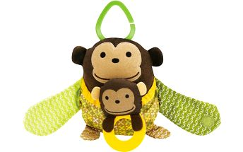 SkipHop Kamarádi na kočárek - Opička
