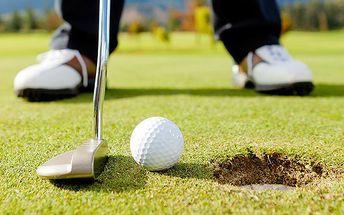 3denní golfový pobyt pro 2 s řadou výhod v parkhotelu Morris v Novém Boru