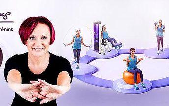 Měsíční členství v dámském fitness Contours