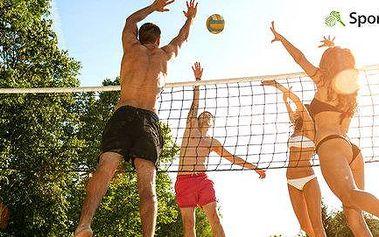 Pronájem kurtů a hřiště na beach volejbal