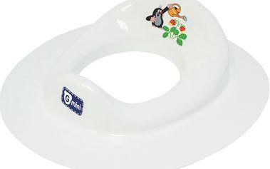 Adaptér na WC Krteček a jahoda, bílá