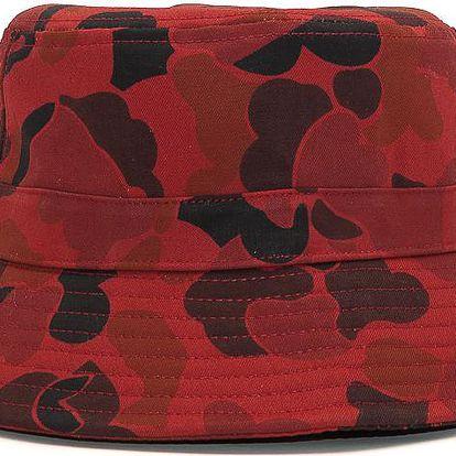 Klobouk Snapbacks.cz Snapbacks Basic Red Frog Camo