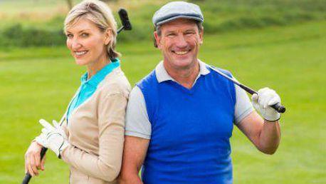Golf 1 FEE pro 2 hráče: 12 poukazů na až 50 nej golfových hřišť v ČR