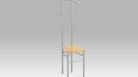 Autronic Němý sluha / židle EP6728, alu