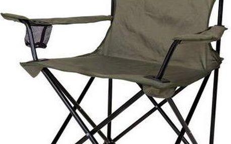 COLEMAN Standard Quad Chair zelená rozkládací židle