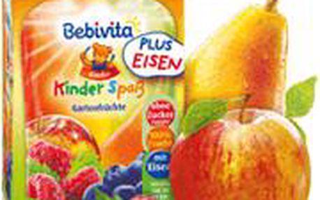 BEBIVITA Zahradní ovoce s přídavkem železa 90g