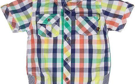 Chlapecká košile - barevná