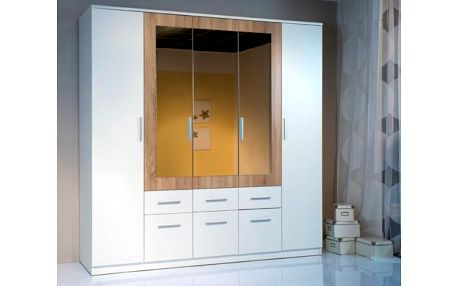 SCONTO BOX 5 Šatní skříň