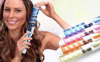 Spirálová kulma pro bohatě natočené prstýnky Vašich vlasů!