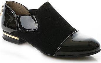Nazouvací lesklá obuv H9185B