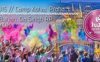 Barevný Holi Open Air Festival míří do Prahy