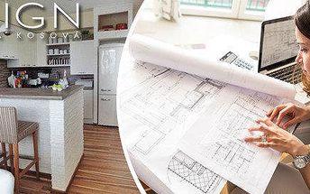 3D návrh místnosti od známé bytové…