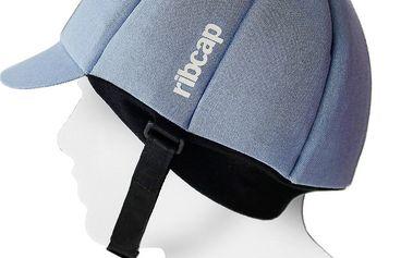 Čepice s ochrannými prvky Ribcap Hardy Azure, vel. M - doprava zdarma!
