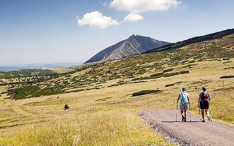 Letní dovolená na kolech pro 2 v Krkonoších