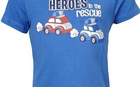 Chlapecké tričko s autíčky - modré