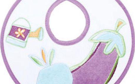 Pískací bryndáček fialový