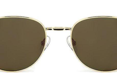 Sluneční brýle Wolfnoir Akela Gold Braum