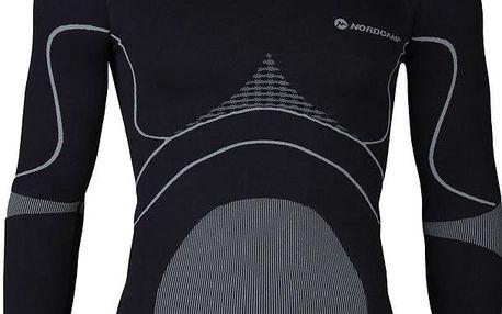 Nordcamp Funkční pánské tričko, ENERGYTECH-LONG-SHIRT-BLACK-MEN