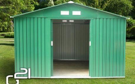 G21 GAH 905 Zahradní domek, zelený, 311 x 291 cm