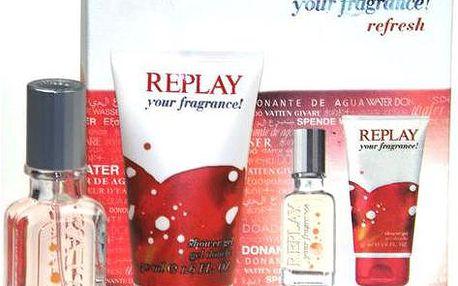 Toaletní voda Replay your fragrance! Edt 20ml + 50ml sprchový gel