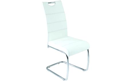 Jídelní židle - potah koženka - SCONTO FLORA S