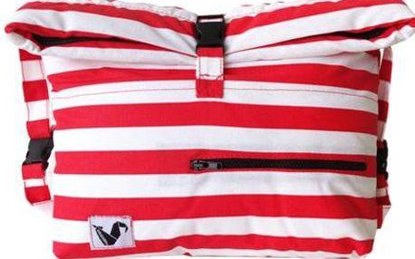 Voděodolná kapsa na věci Pocket Red Stripes