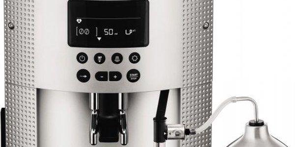 Krups EA 815E Espresseria Auto Pisa S line + Autocappuccino XS6000 ZDARMA + Espresso šálky ZDARMA!