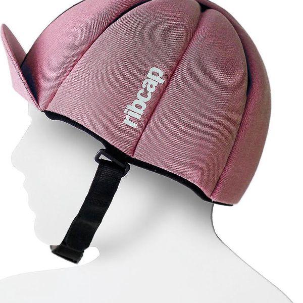 Čepice s ochrannými prvky Ribcap Hardy Rose, vel. L - doprava zdarma!